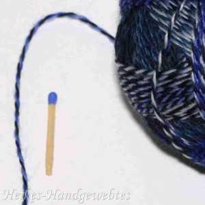 Pause in Blau - Zauberball Stärke 6