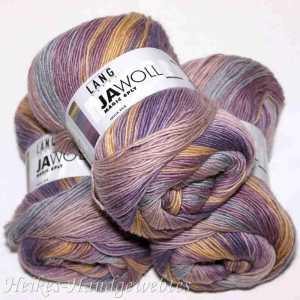 Jawoll Magic 6-fach Altrosa-Gelb-Hellblau