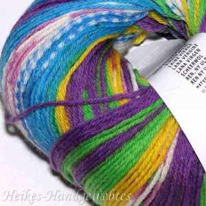 Merino 200 Bebe Color Türkis-Violett-Gelb