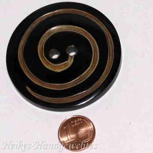 Horn-Knopf Schnecke 50mm rund