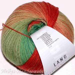 Merino 400 Lace Color Grün-Rot