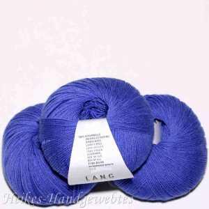 Merino 400 Lace Blau