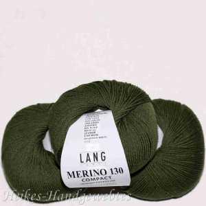 Merino 130 compact Olive dunkel