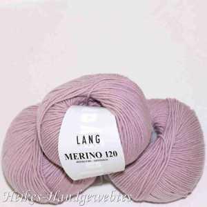 Rosa dunkel Merino 120