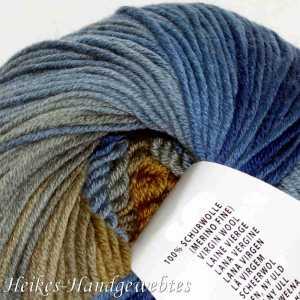 Merino+ Color Ocker-Blau