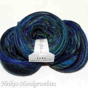 Mille Colori 200g-Bobbel Blau-Grün