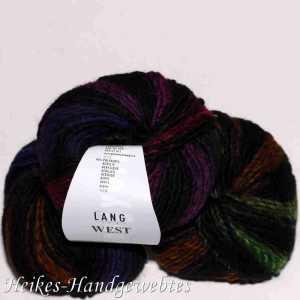 Bunt Grün-Gelb-Violett-Rot West