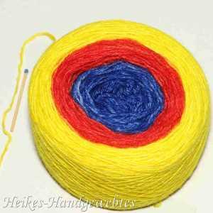 Puno Gelb-Rot-Blau