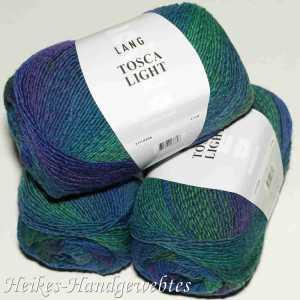 Dunkelblau-Grün-Violett Tosca Light