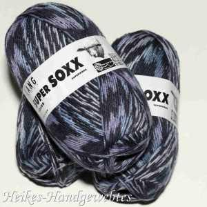 Super Soxx Color 4-fach Jeans-Dunkel Lila