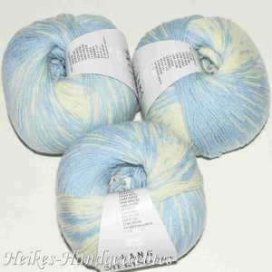 Merino 200 Bebe Color Hellblau-Ecru
