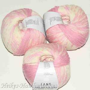 Merino 200 Bebe Color Rosa-Ecru