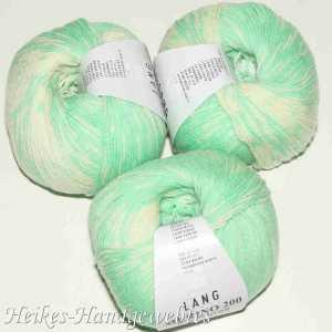 Merino 200 Bebe Color Grün-Ecru