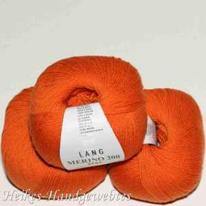 Orange Merino 200 Bebe