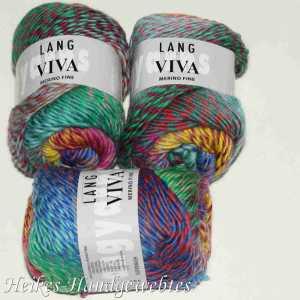 Viva Bunt Lachs-Koralle-Grün