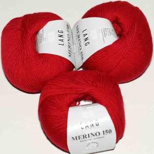 Feuerrot Merino 150