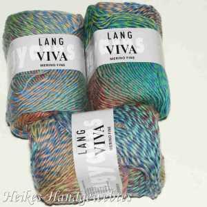 Viva Bunt Grün-Rosa-Blau