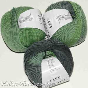 Merino 120 Color Grün-Grau