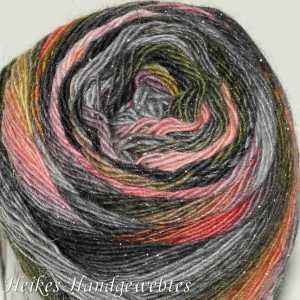 Mille Colori Socks & Lace Luxe Grau-Melone