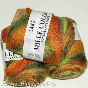 Mille Colori Socks & Lace Luxe Orange-Grün