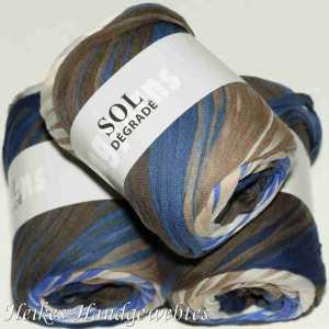 Sol Dégradé Blau-Braun
