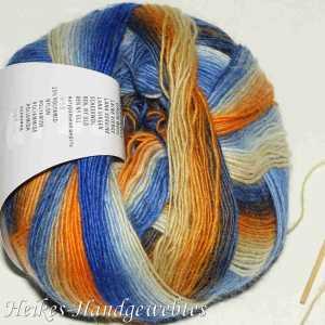 Jawoll Magic Dégradé Orange-Beige-Blau