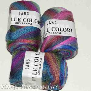 Mille Colori Socks & Lace Blau-Pink