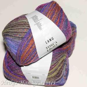 Violett-Orange-Senf Tosca Light