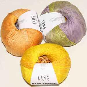 Baby Cotton Color Gelb-Lachs