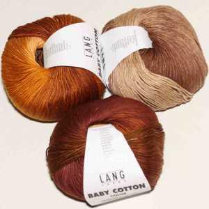Baby Cotton Color Gold-Bordeaux
