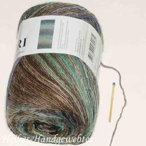 Mille Colori Socks & Lace Luxe Mint-Braun