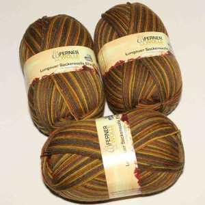 Lungauer Sockenwolle 6fach 358-20 Braun