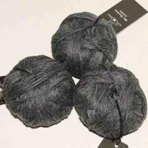 Bio Merinos Silber Tweed