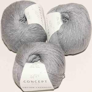 Cotton Cashmere Grau