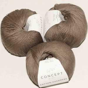 Cotton Cashmere Rehbraun