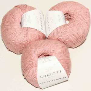 Cotton Cashmere Korallen