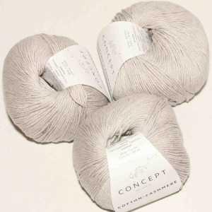Cotton Cashmere Steingrau