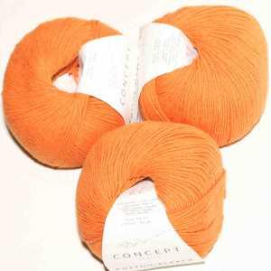 Cotton-Alpaca Orange