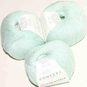 Cotton-Alpaca Weißgrün