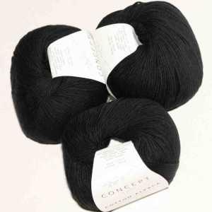 Cotton-Alpaca Schwarz