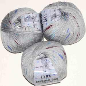 Merino 200 Bebe Color Grau-Blau