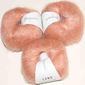 Mohair Luxe Flamingo