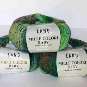 Mille Colori Baby Grün-Braun