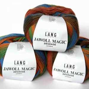 Jawoll Magic Dégradé Orange-Grün-Blau-Braun