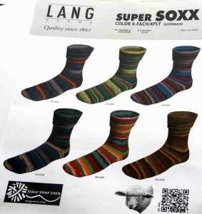 SuperSoxx Color 4-fach Grün-Braun