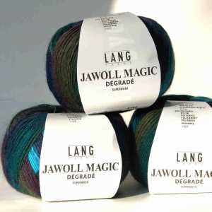 Jawoll Magic Dégradé Blau-Violett-Grün